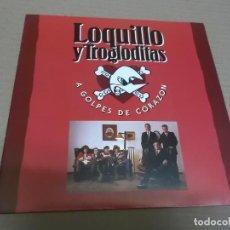 Discos de vinilo: LOQUILLO Y TROGLODITAS (SN) A GOLPES DE CORAZON AÑO – 1992 - PROMOCIONAL. Lote 204483185