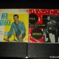 Discos de vinilo: LOTE 2 SINGLES NEIL SEDAKA. Lote 204508032