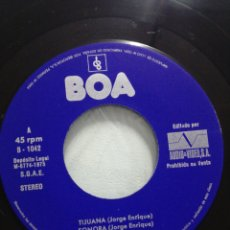 Discos de vinilo: TEMAS DE JORGE ENRIQUE.ATENEA.REBECO.TIJUANA.SONORA.1975. Lote 204510051