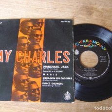 Discos de vinilo: VINILO DE RAY CHARLES. MARCHATE, JACK.... Lote 204513788