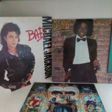 Discos de vinilo: 3 LPS MICHAEL JACKSON. Lote 204515322