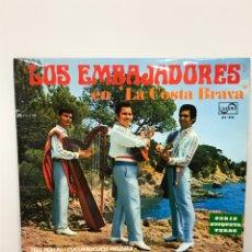 Discos de vinilo: DISCO LP LOS EMBAJADORES , EN LA COSTA BRAVA ZAFIRO ZV 579. Lote 204525180