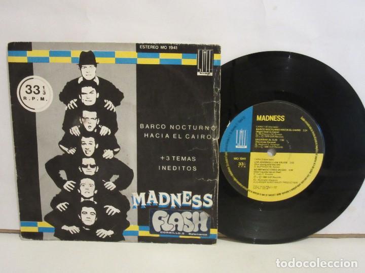 MADNESS - BARCO NOCTURNO HACIA EL CAIRO +3 - EP - 33 RPM - 1980 - SPAIN - G/G (Música - Discos de Vinilo - EPs - Reggae - Ska)