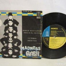Discos de vinilo: MADNESS - BARCO NOCTURNO HACIA EL CAIRO +3 - EP - 33 RPM - 1980 - SPAIN - G/G. Lote 204526898