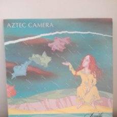 Disques de vinyle: AZTEC CAMERA - KNIFE - LP 1984 - ENCARTE CON LETRAS. Lote 204532428