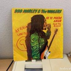 Discos de vinilo: BOB MARLEY & THE WAILERS – COULD YOU BE LOVED. SINGLE VINILO. ESTADO VG+/VG+. Lote 204545458