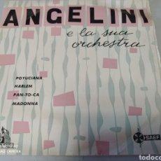 Discos de vinilo: ANGELINI E LA SUA ORCHESTRA. POYUCIANA/ HARLEM. EP. SPAIN. 1959. JAZZ. Lote 204548943
