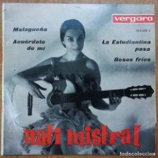 Discos de vinilo: DISCO DE VINILO EP--NATI MISTRAL--MALAGUEÑA. Lote 204551257