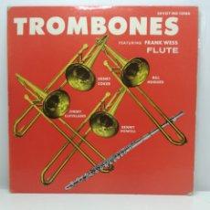 Discos de vinilo: TROMBONES, VV.AA. (SAVOY, ORIG.USA). Lote 251992465