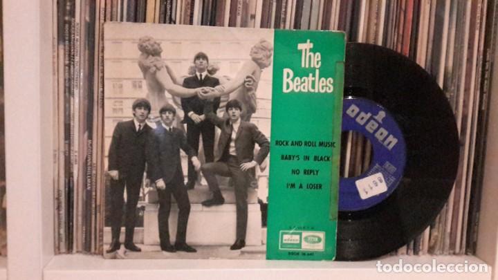 BEATLES - ROCK AND ROLL MUSIC (Música - Discos de Vinilo - EPs - Pop - Rock Internacional de los 50 y 60)