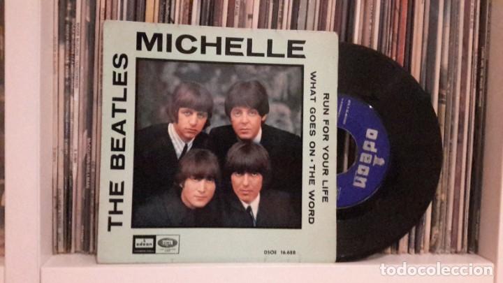 BEATLES - DAY MICHELLE (Música - Discos de Vinilo - EPs - Pop - Rock Internacional de los 50 y 60)