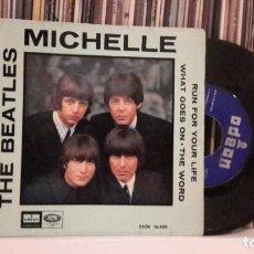Disques de vinyle: BEATLES - DAY MICHELLE. Lote 204587730