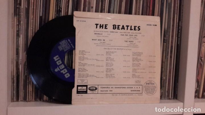 Discos de vinilo: BEATLES - DAY MICHELLE - Foto 2 - 204587730