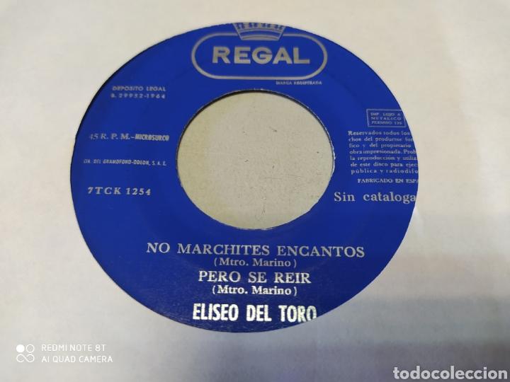 ELISEO DEL TORO. TIERNAS MIRADITAS / TU NEGRITO SERAFÍN. EP 1964. GENERICO (Música - Discos de Vinilo - EPs - Grupos Españoles 50 y 60)