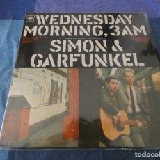Discos de vinilo: LP UK SIMON GARFUNKEL WEDNESDAY MORNING 3AM UK LABEL ANTIGUO PORTADA OK LP CIERTO USO CORRECTO UI. Lote 204589812