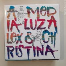 Discos de vinil: NT ALEX & CHRISTINA - A MEDIA LUZ 1988 PROMO PROMOCIONAL SINGLE VINILO SPAIN. Lote 204590200