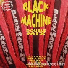 Discos de vinilo: BLACK MACHINE - DOUBLE MIX (2X12, LTD) LABEL:PLM RECORDS CAT#: PLM 13. Lote 204590232
