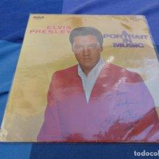 Discos de vinil: ELVIS PRESLEY LP A PORTRAIT IN MUSIC HOLANDA AÑOS 70 ESTADO CORRECTO. Lote 204590271