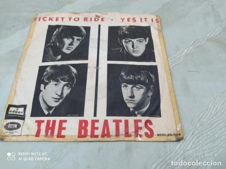 THE BEATLES TICKET TO RIDE +1 ODEON ESPAÑA (Música - Discos de Vinilo - EPs - Pop - Rock Extranjero de los 50 y 60)