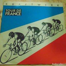 Discos de vinilo: KRAFTWERK – TOUR DE FRANCE - SINGLE 1983. Lote 204604532
