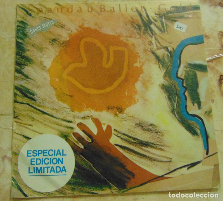 SPANDAU BALLET – GOLD - SINGLE 1983 (Música - Discos de Vinilo - Singles - Pop - Rock Extranjero de los 80)