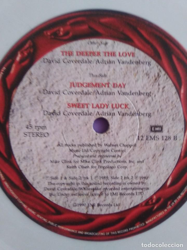 Discos de vinilo: JOYA. SPECIAL LTD EDITION 12´´ WHITESNAKE.THE DDEPER THE LOVE/JUDGEMENT DAY/SWEET LADY LUCK.EMI 1990 - Foto 7 - 236955635