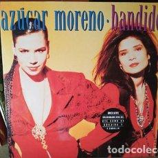 Discos de vinilo: AZUCAR MORENO.LP-1990..BANDIDO. EUROVISION ESPAÑA. Lote 204622337