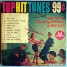 Discos de vinilo: TOP HIT TUNES 99: MARTY HOLMES/ JOHN COLE/ JIMMY KAREN/ THE TOPPERS7 RAY SIMS/ BOB ROBBINS. USA 1960. Lote 204624305