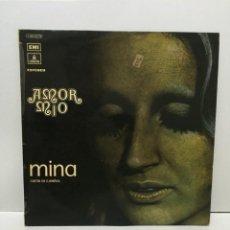 Discos de vinilo: MINA ?– AMOR MIO 1971. Lote 204625711