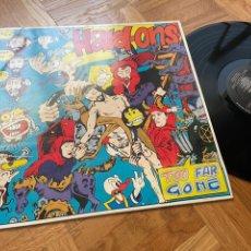Discos de vinilo: THE HARD ONS TOO FAR GONE LP DISCO VINILO PUNK ROCK AUSTRALIA. Lote 204640503