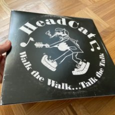 Discos de vinilo: HEADCAT WALK THE WALK LP DISCO DE VINILO MOTORHEAD STRAY CATS LEMMY KILMISTER. Lote 204641205