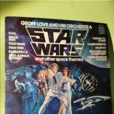 Discos de vinilo: STAR WARS AND OTHER SPACE THEMES LP 1978. Lote 204643312
