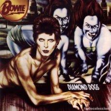 Discos de vinilo: LP DAVID BOWIE DIAMOND DOGS 180G VINILO. Lote 204645892