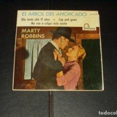 Discos de vinilo: MARTY ROBBINS EP EL ARBOLDEL AHORCADO. Lote 204646116
