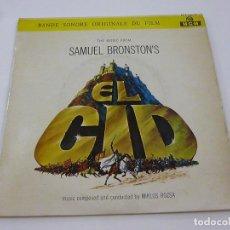Discos de vinilo: EL CID - SAMUEL NRONTONS - SINGLE -N. Lote 204653456