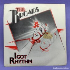 Discos de vinilo: SINGLE, THE BROADS - I GOT RYTHM. Lote 204672323
