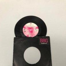 Discos de vinilo: BBG FEATURING DINA TAYLOR. Lote 204672740