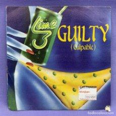 Discos de vinilo: SINGLE, LIME GUILTY. Lote 204672855