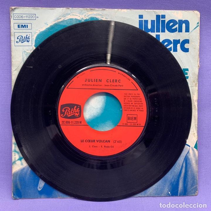 Discos de vinilo: SINGLE, JULIEN CLERC LE COEUR - Foto 2 - 204673342
