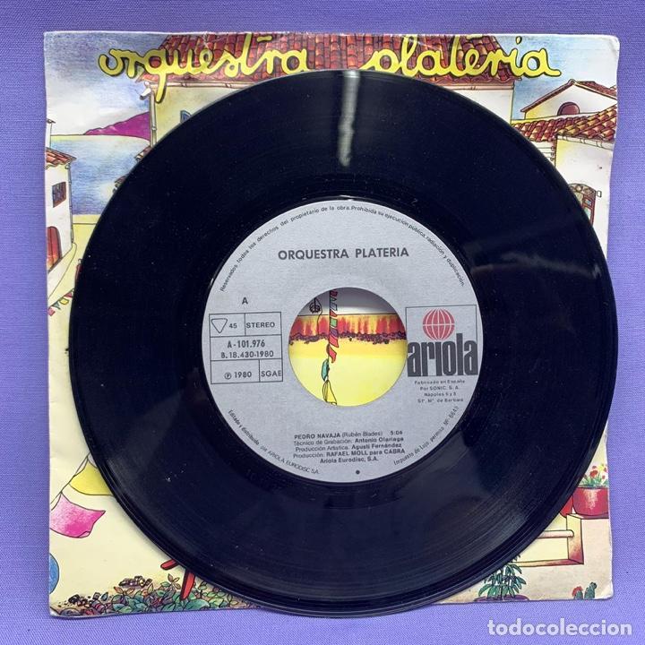 Discos de vinilo: SINGLE, ORQUESTRA PLATERIA - PEDRO NAVAJA - Foto 2 - 204675687