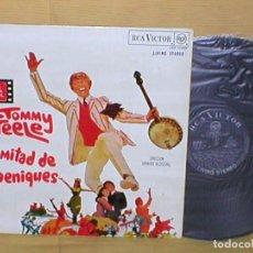 Discos de vinilo: TOMMY STEELE LA MITAD DE 6 PENIQUES HALF A SIX PENCE SPAIN LP ORIGINAL 1968 BSO RCA BUEN ESTADO BSO. Lote 204687353