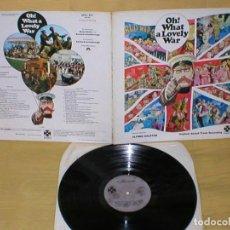 Discos de vinilo: OH! WHAT A LOVELY WAR UK LP 1969 ALFRED RALSTON BANDA SONORA ORIGINAI IMPORTACIÓN BUEN ESTADO BSO. Lote 204689366