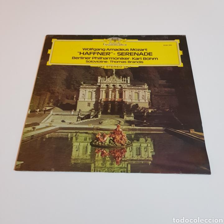 MOZART - HAFFNER - SERENADE - THOMAS BRANDIS ( VIOLIN ) - FILARMÓNICA BERLIN - KARL BOHM (Música - Discos - LP Vinilo - Clásica, Ópera, Zarzuela y Marchas)