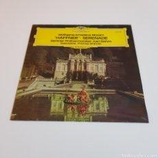 Discos de vinil: MOZART - HAFFNER - SERENADE - THOMAS BRANDIS ( VIOLIN ) - FILARMÓNICA BERLIN - KARL BOHM. Lote 204698997