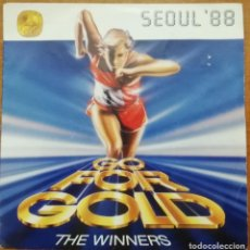 Disques de vinyle: DISCO DE VINILO EP--SEOUL 88--GO FOR GOLD. Lote 204702187