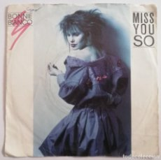 Discos de vinilo: DISCO DE VINILO EP--BONNIE BIANCO--MISS YOU SO. Lote 204703830