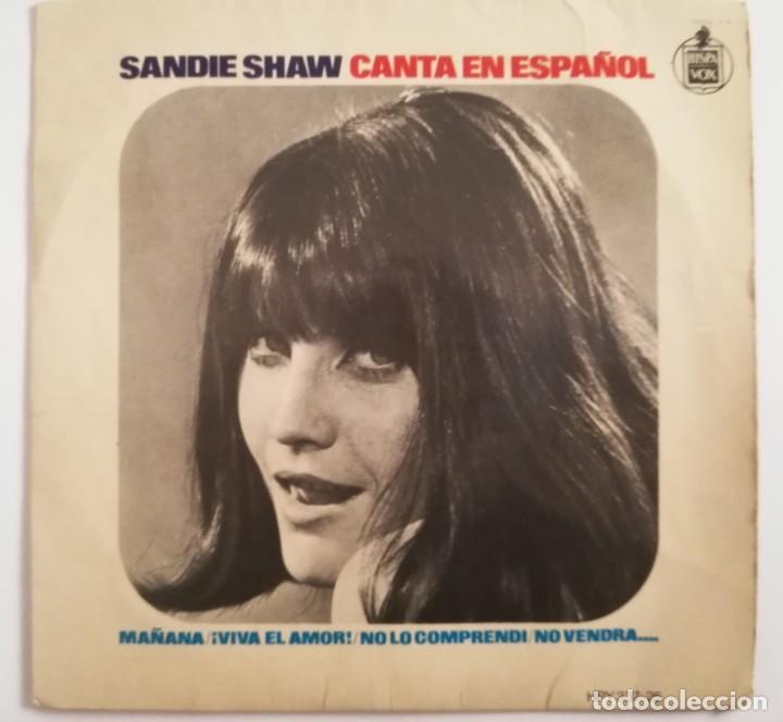DISCO DE VINILO EP--SANDIE SHAW CANTA EN ESPAÑOL (Música - Discos de Vinilo - EPs - Pop - Rock Extranjero de los 50 y 60)