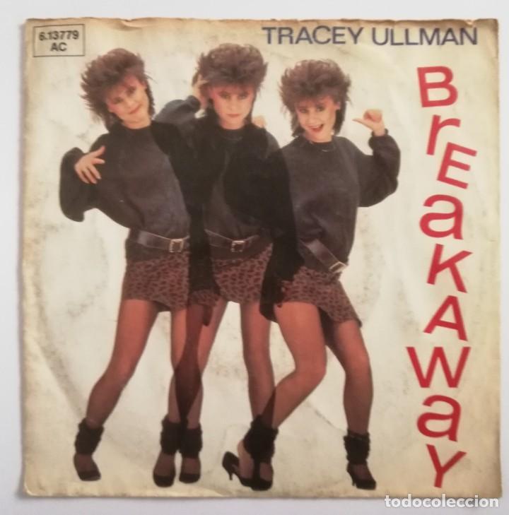 DISCO DE VINILO EP--TRACEY ULLMAN--BREAKAWAY (Música - Discos de Vinilo - EPs - Pop - Rock - New Wave Extranjero de los 80)