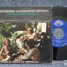 Discos de vinilo: CREEDENCE CLEARWATER REVIVAL - TRAVELIN´BAND / WHO´LL STOP THE RAIN. AÑO 1.970. Lote 204709733