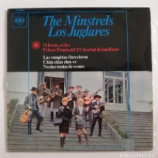 Discos de vinilo: DISCO DE VINILO EP--THE MINSTRELS (LOS JUGLARES). Lote 204711680